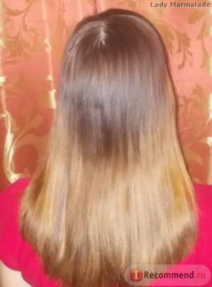 Домашнее ламинирование волос с желатином, результат