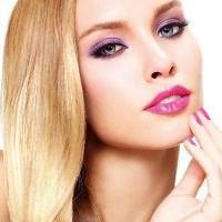 макияж для русых с серо голубыми глазами 6
