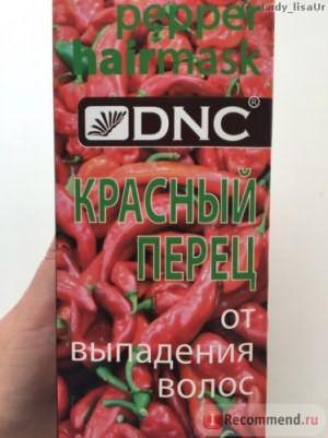 Маска DNC Красный перец для волос от выпадения фото