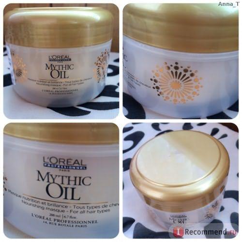 Питательная маска для всех типов волос L'Oreal Professionnel Mythic Oil фото