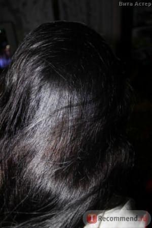 Волосы после маски.