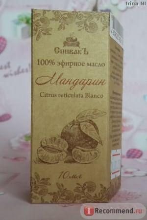 Эфирное масло СпивакЪ Мандарин фото