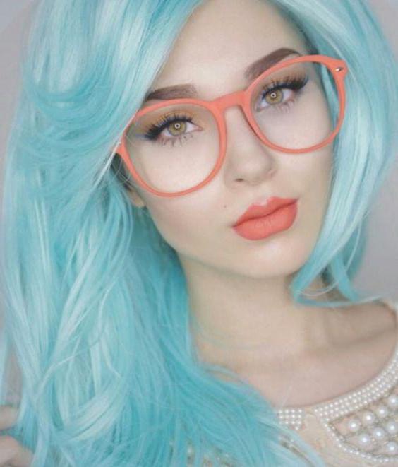 как красить волосы мелками для волос на темные волосы