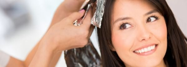 Безопасная покраска волос