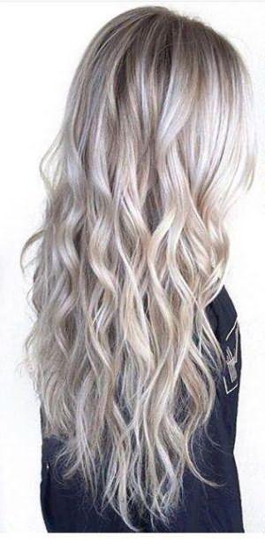 модное окрашивание светлых волос