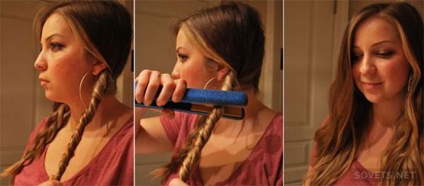 Придание объема волосам