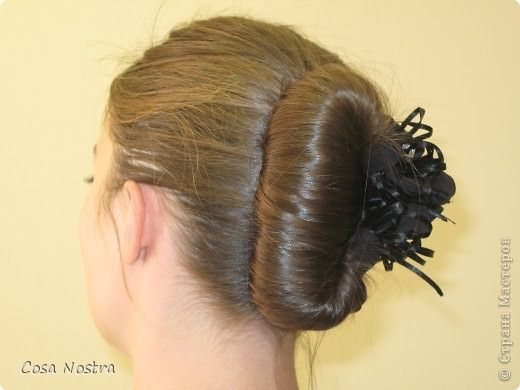 Мастер-класс, Прическа: Прическа с заколкой д/волос Софист-о-твист