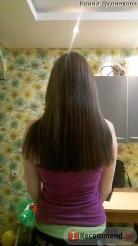 после.отстригла все плохие волосы