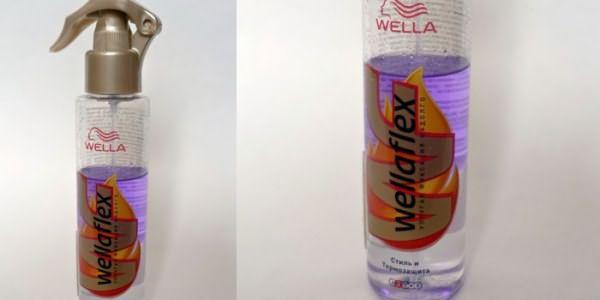 Термозащитное средство Wella Спрей для волос Wellaflex термозащита/стиль