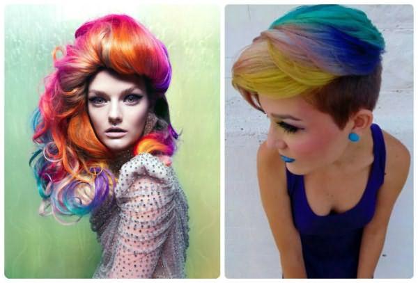 Нестандартное окрашивание волос - 2