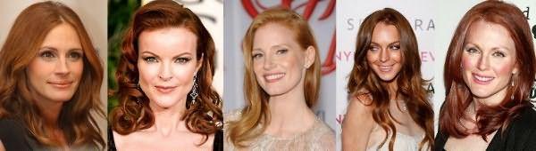 «Помогите подобрать цвет волос» нередкая просьба от осенних дам, шепчем на ухо секрет – смотрите гамму от медового до насыщенного бронзового