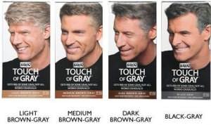 Последняя разработка компании Combe Inc краска Just For Men Touch of Gray
