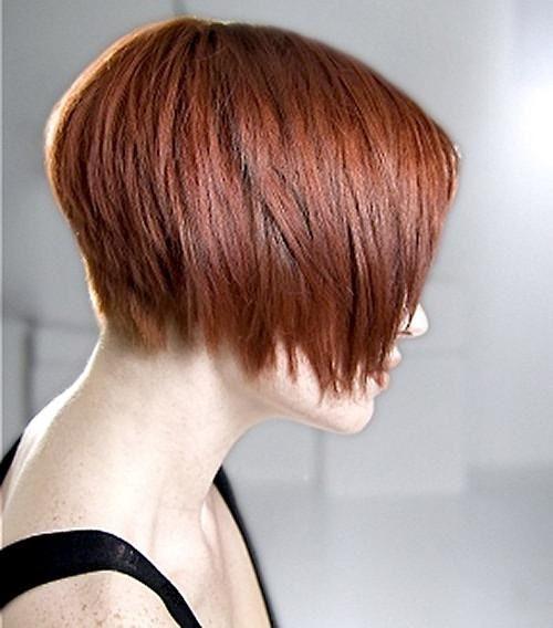 каре с челкой на тонкие волосы техника