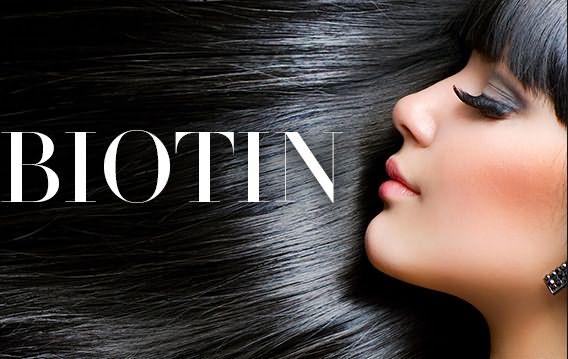 Волосы после приема биотина