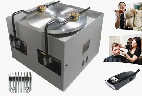 Заточка ножей машинки для стрижки волос производится на особых дисковых станках