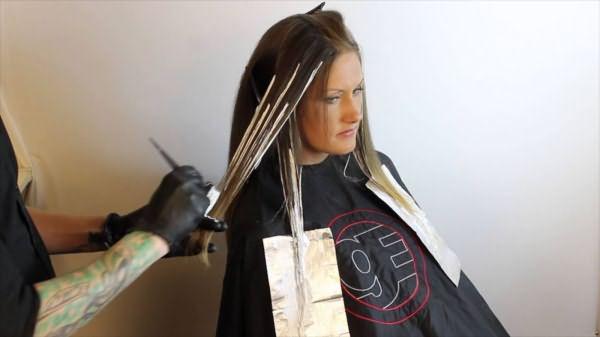 амбре окрашивание волос цена