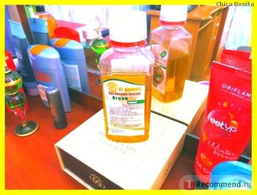 Аргановое масло El-Hawag Co. Argan Oil natural фото