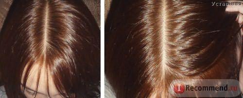 Волосы через неделю после окрашивания.