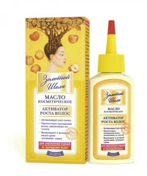 Масло-активатор укрепляет корни, предотвращает выпадение волос.