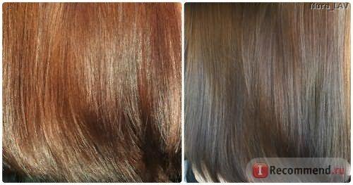 волосы при естественном и искусственном освещении