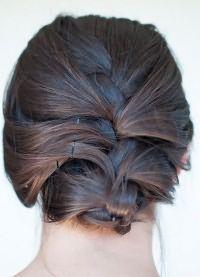 Французские косы на средние волосы 1
