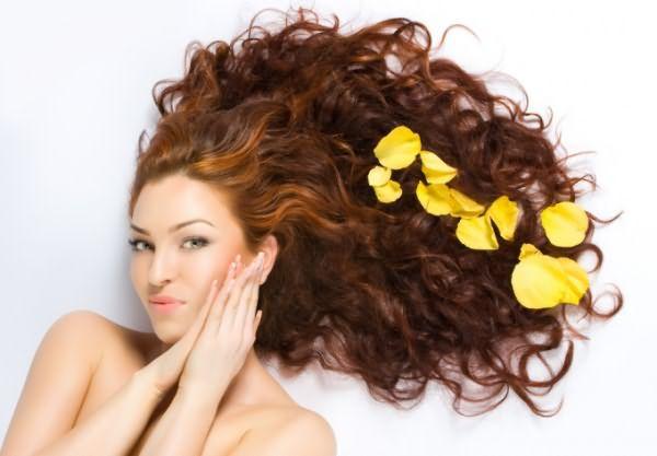 Красота волос зависит от ухода за ними