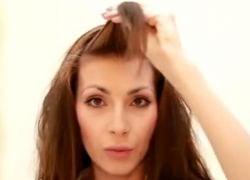 как накрутить волосы на бигуди липучки 2