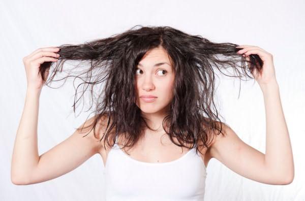 Волосы, лишенные объема