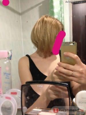 Вот так сломался волос и пришлось подстричь ((((