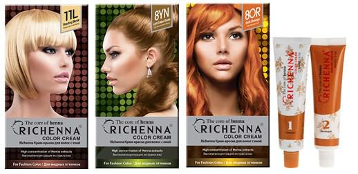 косметика для волос Richenna