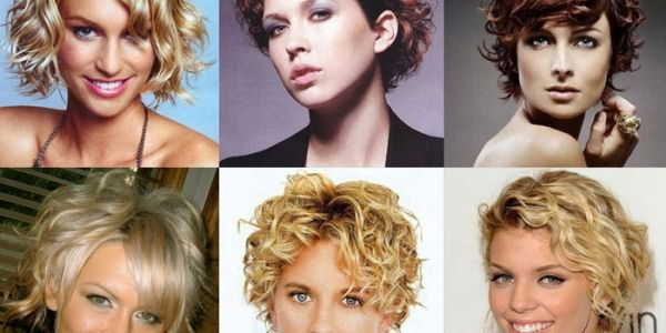 Короткие стрижки для волнистых волос