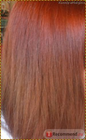 Волос ПОСЛЕ окрашивания фото без вспышки
