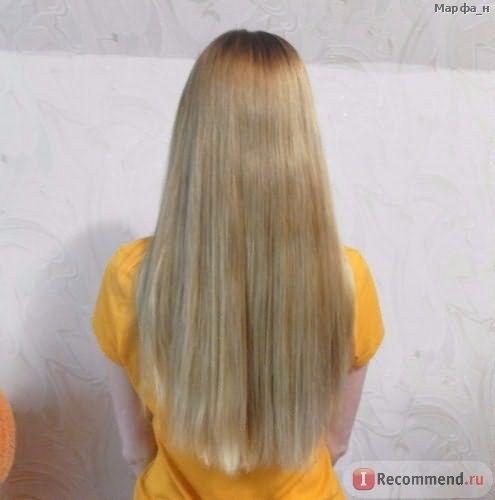 Фото волос без вспышки.