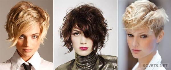 фото: стрижки на короткие волосы в стиле гранж
