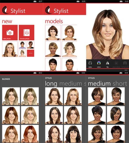 Stylist App позволяет примерить новый образ на собственном изображении или фотографиях знаменитостей
