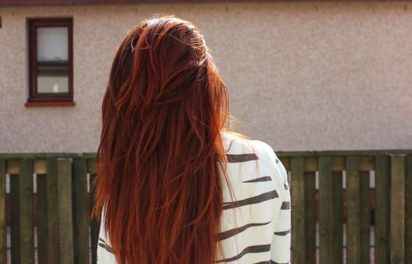 волосы окрашенные хной