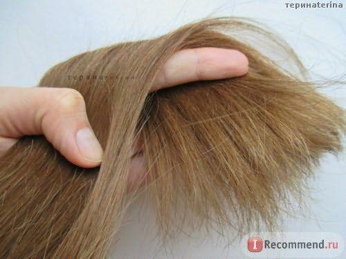 После полировки волос
