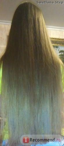 Масло репейное для волос Мирролла с целебными травами фото