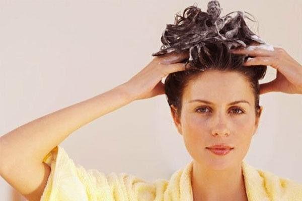 Оттеночный шампунь оставляется на голове на 5-30 минут