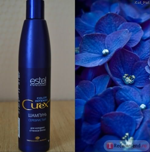 Шампунь Estel Professional Curex Color Intense «Серебристый» для холодных оттенков блонд фото