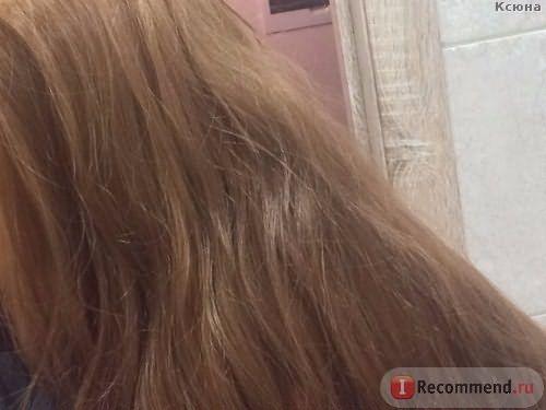 Волосы после смывки - холодный искусственный свет / Эмульсия для удаления стойких красок с волос Estel Color Off - отзыв