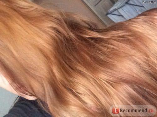 Фото на утро после смывки - дневной свет / Эмульсия для удаления стойких красок с волос Estel Color Off - отзыв