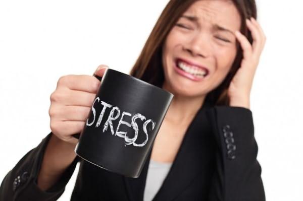 Выпадение волос от стресса