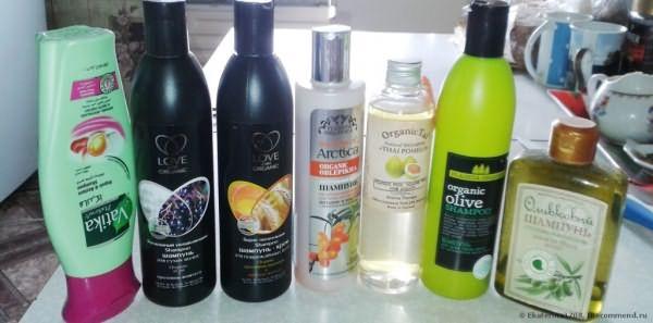 шампуни органические