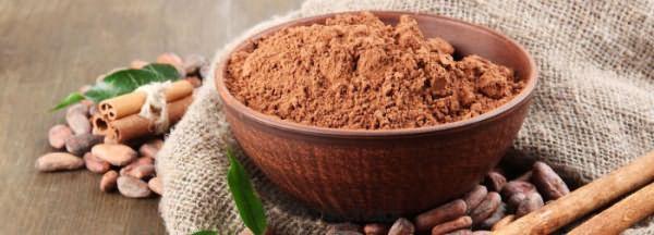 Самодельный шампунь из какао и муки