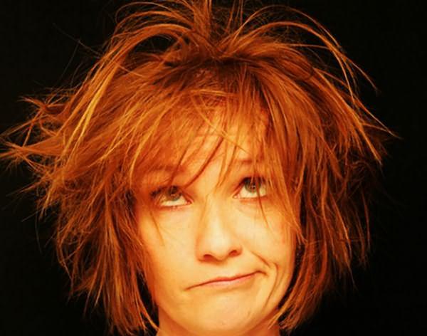 Сухие, поврежденные волосы