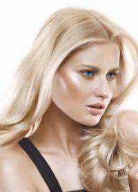 цвет жемчужный блонд 1