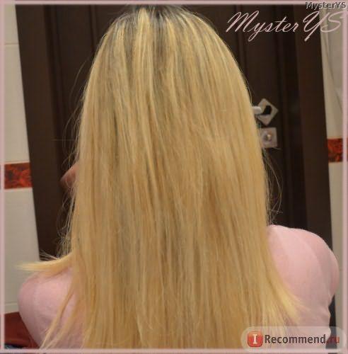 Волосы после масла арганы