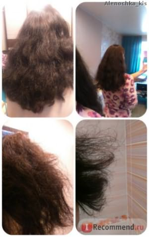 До процедуры Ботокс для волос