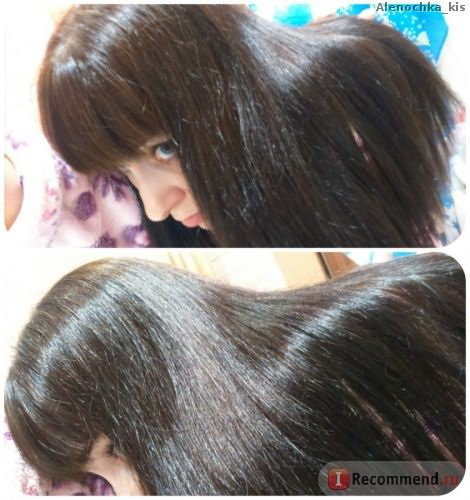 После процедуры Ботокс для волос